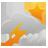 nébulosité variable, des averses de pluie ou orages