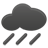very cloudy, light rain or drizzle