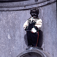 An image of Manneken Pis