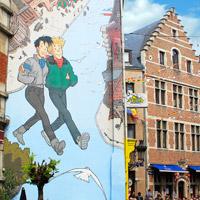 Cartoon walk