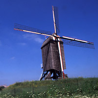 Windmill in Woluwe-Saint-Lambert