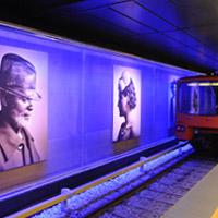 Kunst in de metro