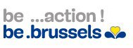 Logo be ...action ! be .brussels