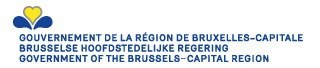logo Gouvernent de la region Bruxelles-Capital - Brussels Hoofdstedelijke Regering - Gouvernement of the Brussels Capital-Region